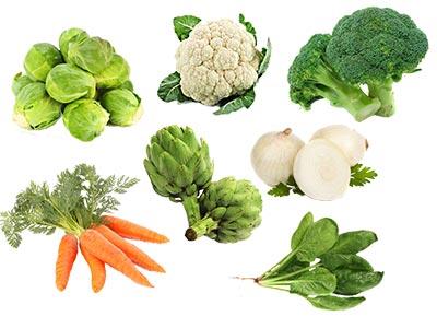 Verduras de invierno. Descubre los principales alimentos de enero a marzo