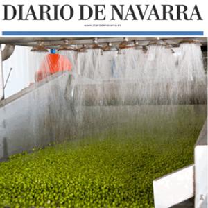 Navarra produce el 39% de la verdura congelada del país y es líder nacional