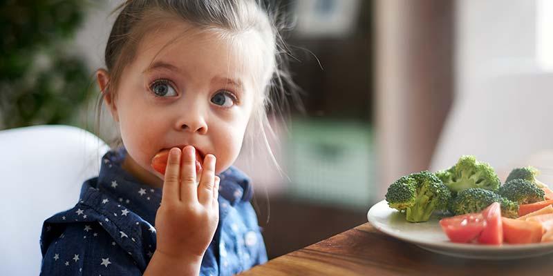 Un estudio desvela algunos trucos para fomentar el consumo de verduras entre los más pequeños