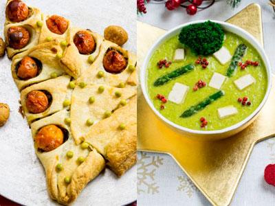Esta Navidad, apuesta por un menú alternativo y saludable con originales platos de verduras