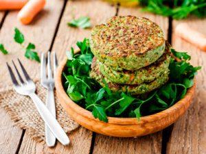 ¿Te atreves con una hamburguesa de verduras?