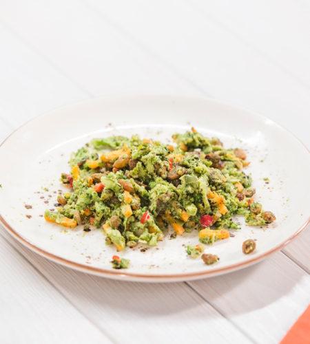 Falso Cous Cous de brócoli