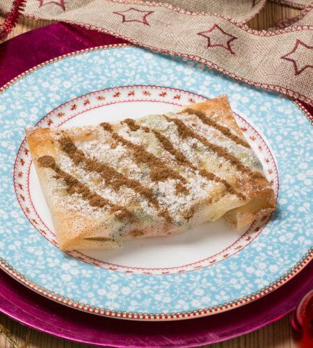 Pastela de verduras al estilo marroquí